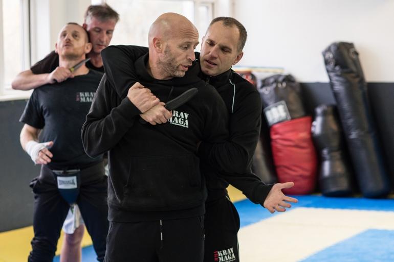 Ricky Manetta's MMA Krav Maga Photoshoot - Creative Well-Being